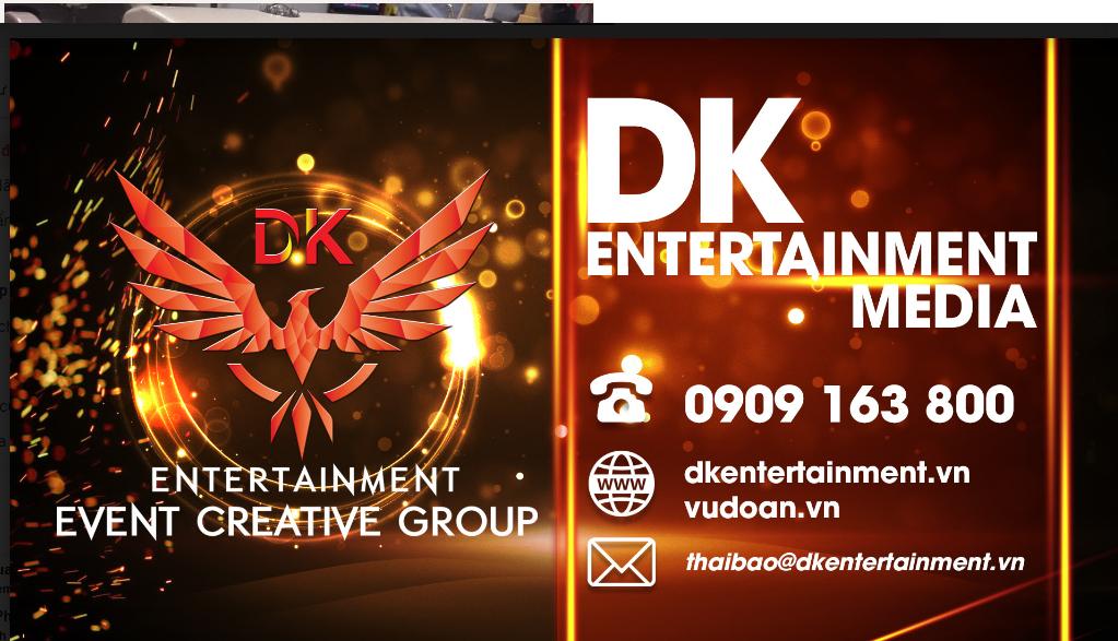 Cho thuê vũ đoàn biểu diễn  Công ty giải trí DK Entertainment