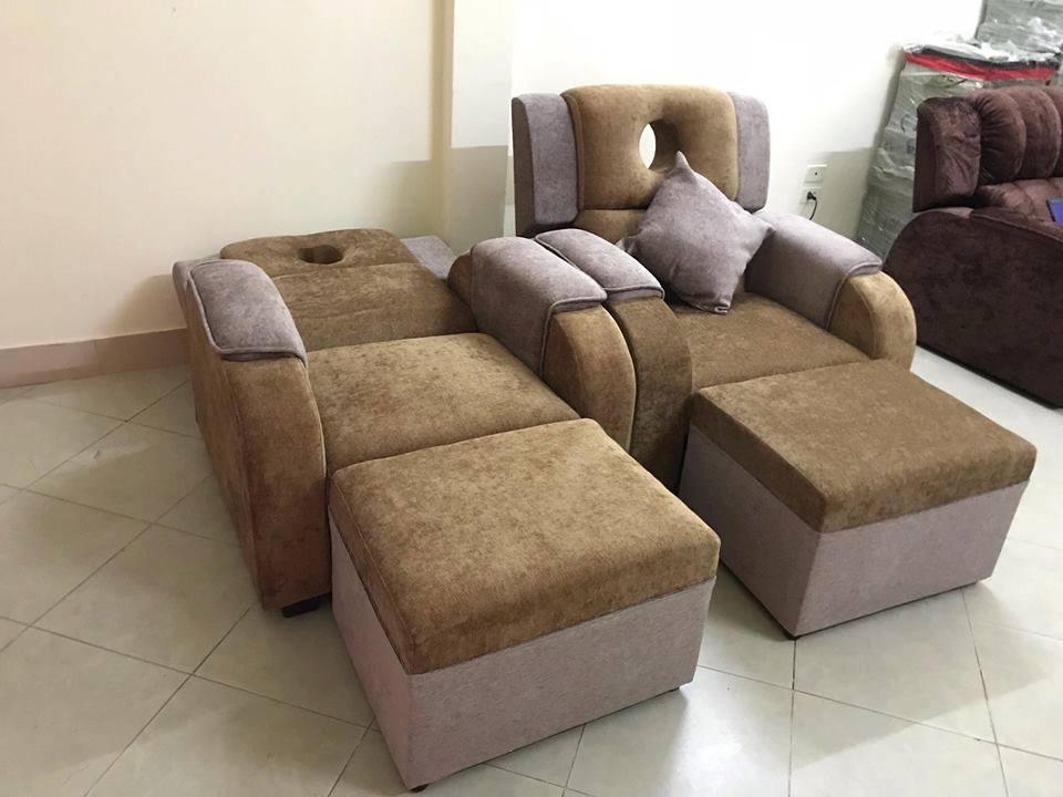 Dịch vụ cung cấp và bọc ghế massage chân giá rẻ