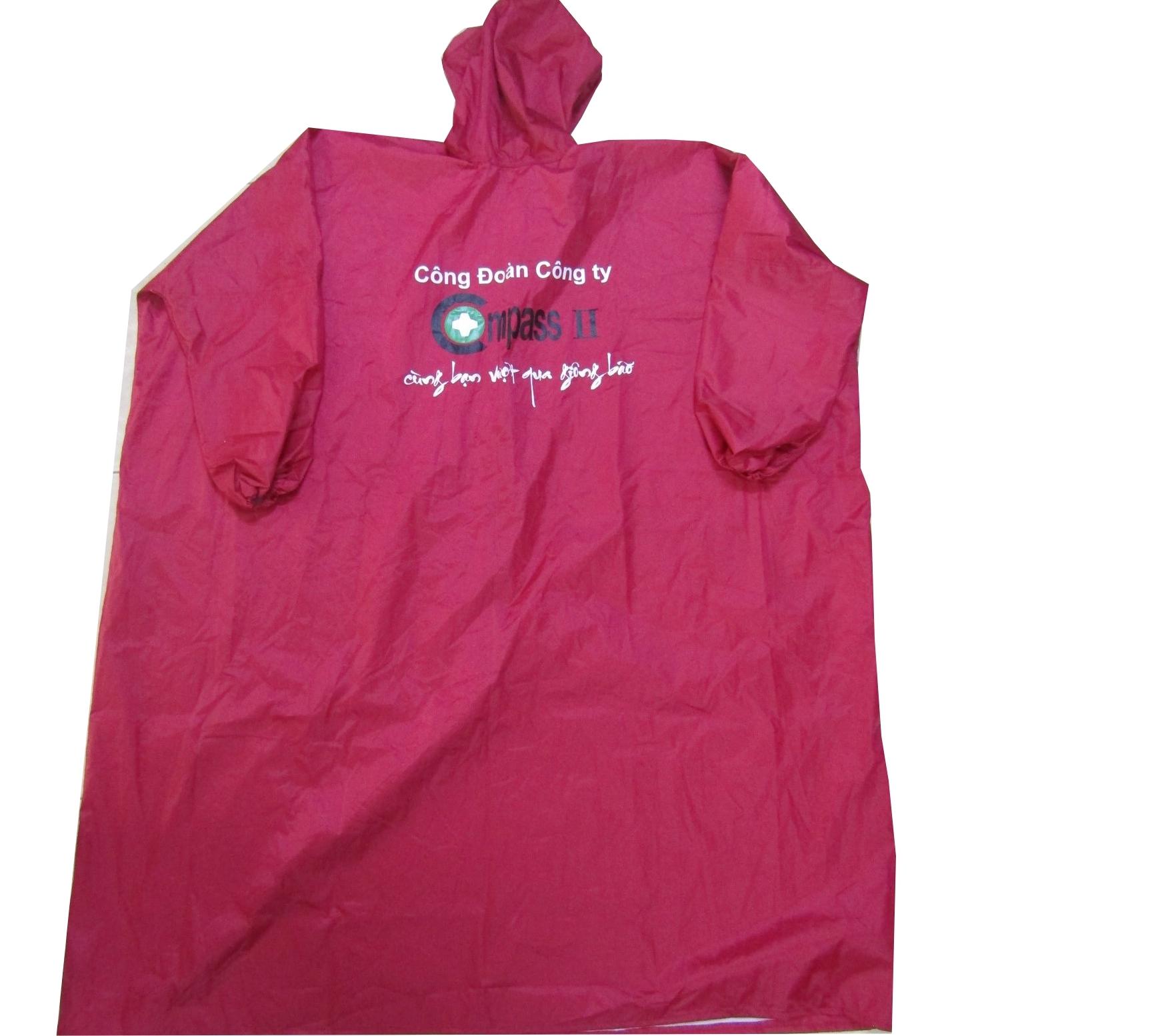 in áo mưa quà tặng