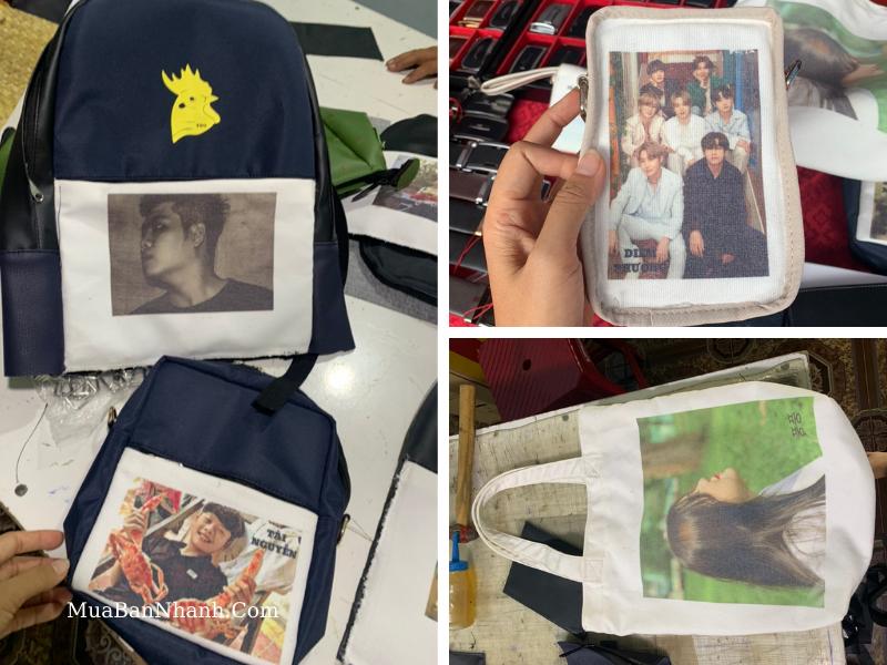 Xưởng may & in balo, túi canvas, túi điện thoại, máy tính bảng hình ảnh theo yêu cầu TPHCM
