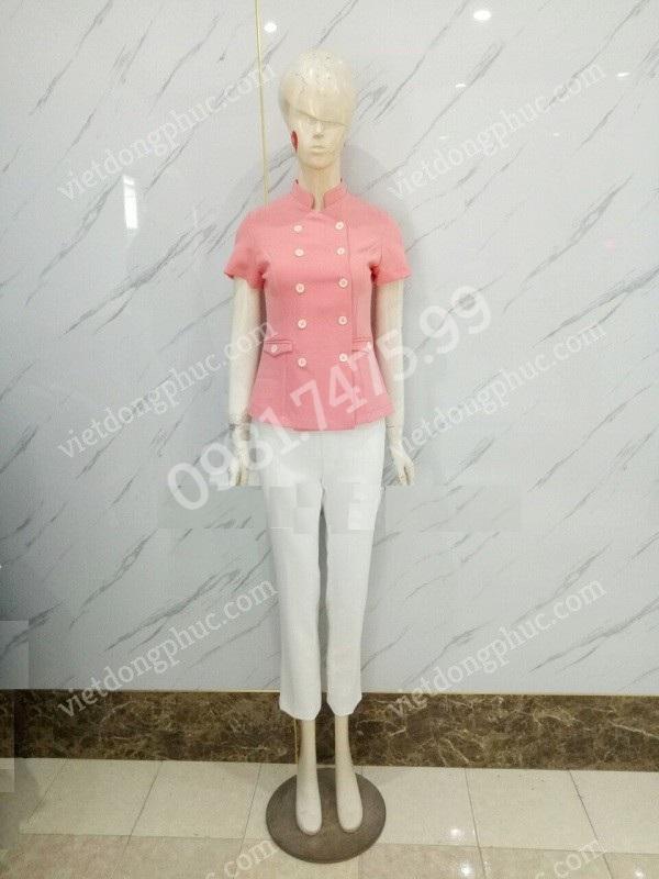 Xưởng may đồng phục Spa chất lượng, màu sắc chuẩn, giá rẻ tại Hà Nội