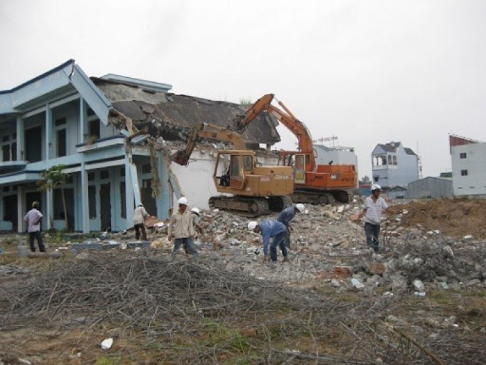 Đơn vị chuyên tháo dỡ, đập phá, thu mua xác nhà cũ tại TP. HCM