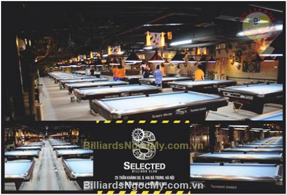 Đối tác cung cấp Bàn Billiards AILEEX