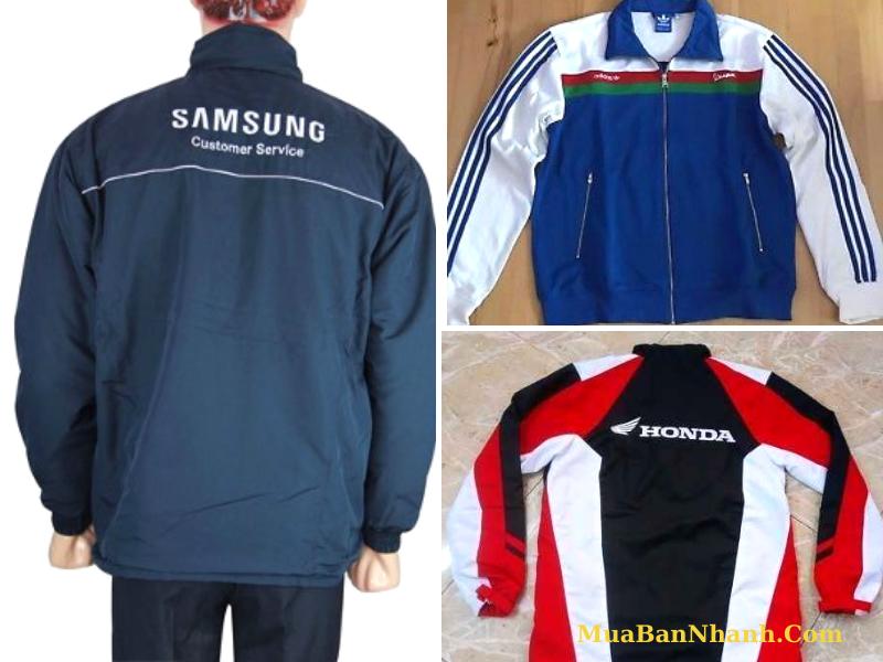 Đặt may áo khoác đồng phục cho cửa hàng Honda Head, Yamaha Tower, Suzuki 3S, Kimco 3S từ TPHCM