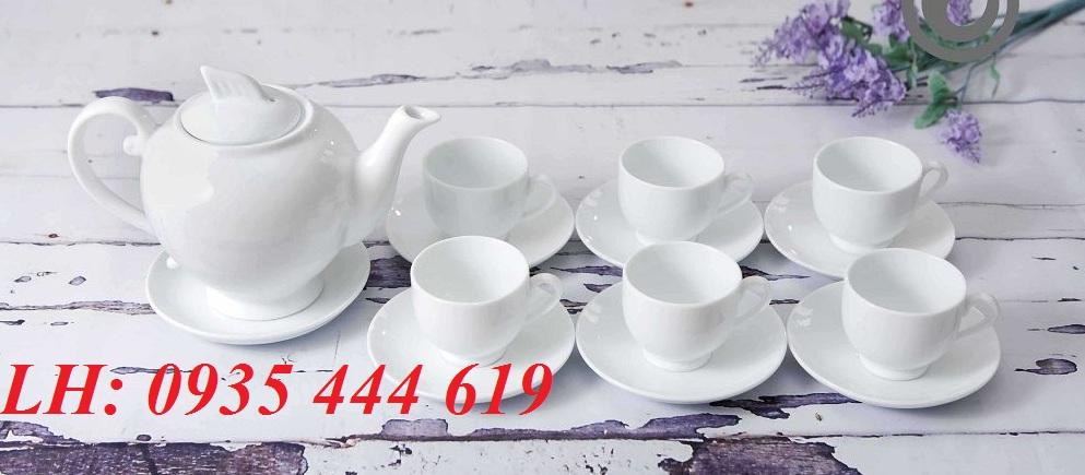 In ấn logo lên Ấm trà quà tặng khách hàng ý nghĩa tại Quảng Nam