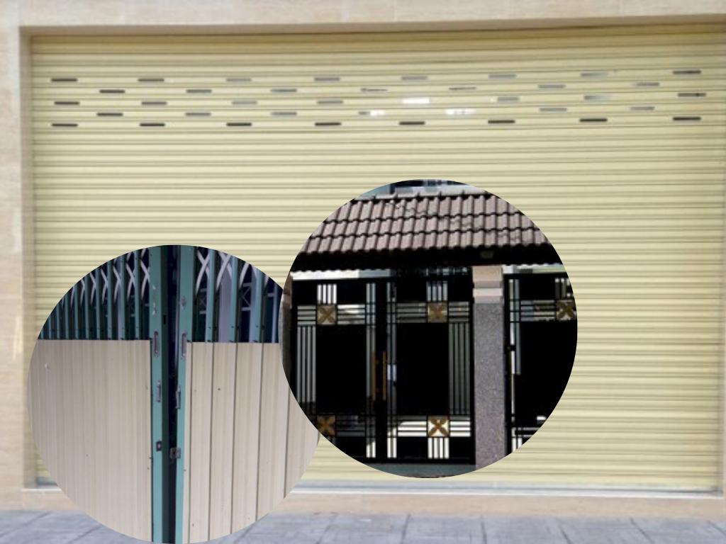 Địa chỉ sửa chữa, thay ổ khóa cửa cuốn, cửa kéo tay 24/7 uy tín tại TPHCM