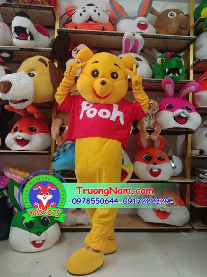 Mascot thỏ, gấu, hoạt hình Disney phục vụ trung thu 2020