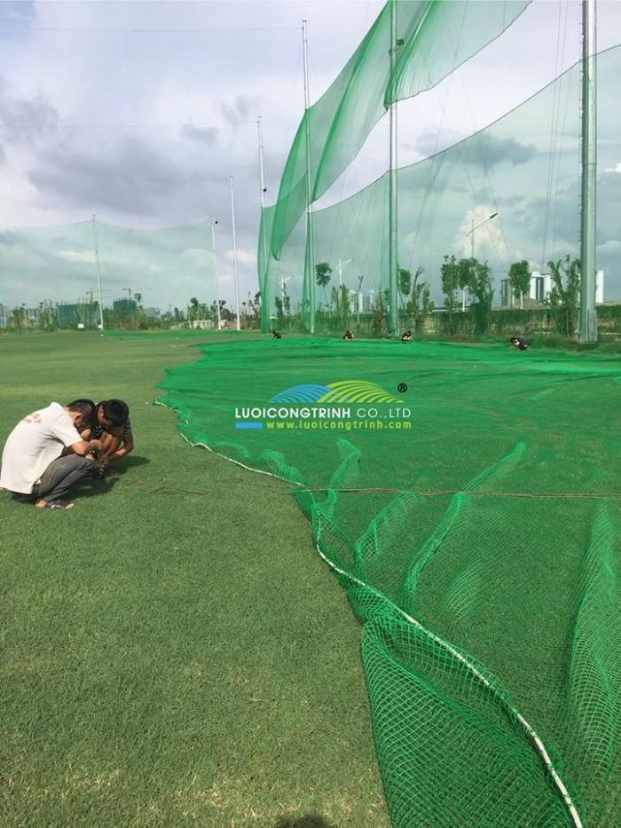 Thay Lưới Sân Tập Golf