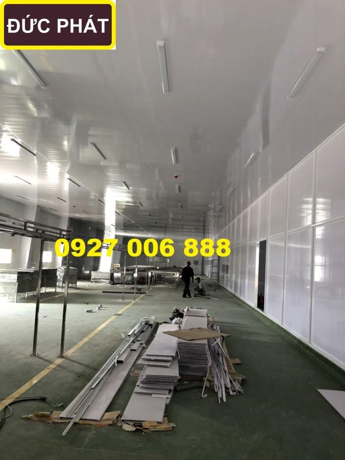 Chuyên sản xuất và thi công tất cả trần  nhựa nhà máy thủy sản và thực phâme
