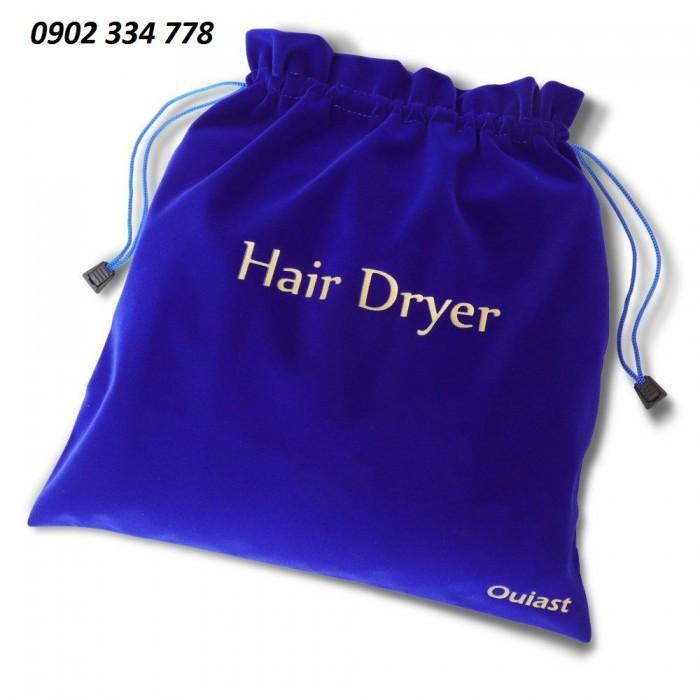 Xưởng chuyên may túi nhung đựng máy sấy tóc...