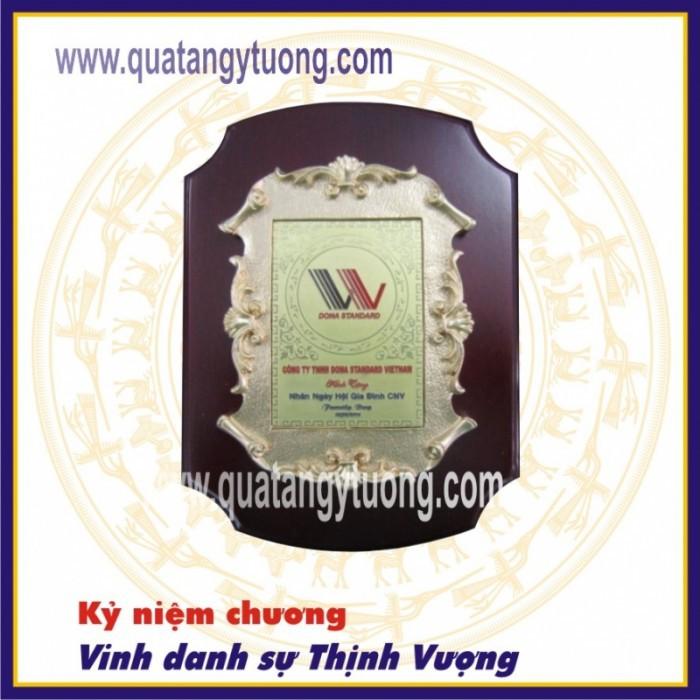 Công ty chuyên sản xuất biểu trưng gỗ đồng, bảng vinh danh đại lý