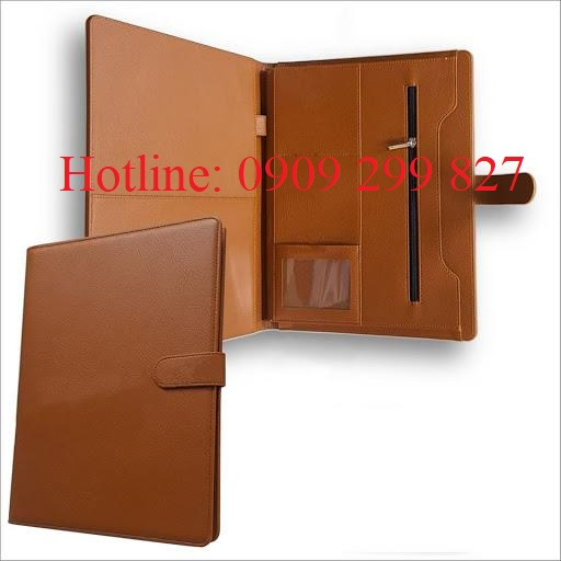 Đặt xưởng làm bìa da đựng hồ sơ, chứa tài liệu TPHCM