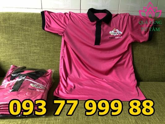 Xưởng sản xuất áo thun giá rẻ vv27