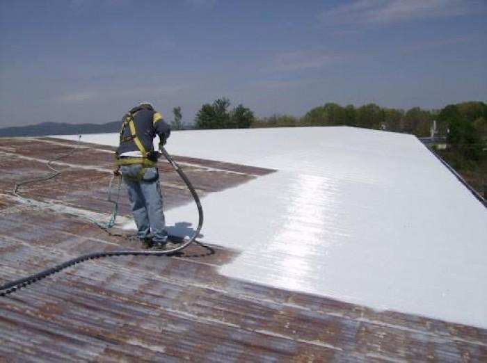 Nhận thi công phun sơn chống nóng mái tôn, nhà xưởng