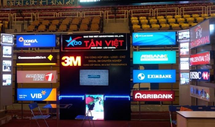 Làm biển hộp đèn - Biển quảng cáo tại Hà Nội