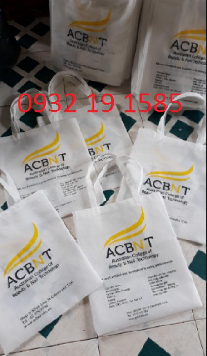 Xưởng sản xuất túi vải cavas theo yêu cầu