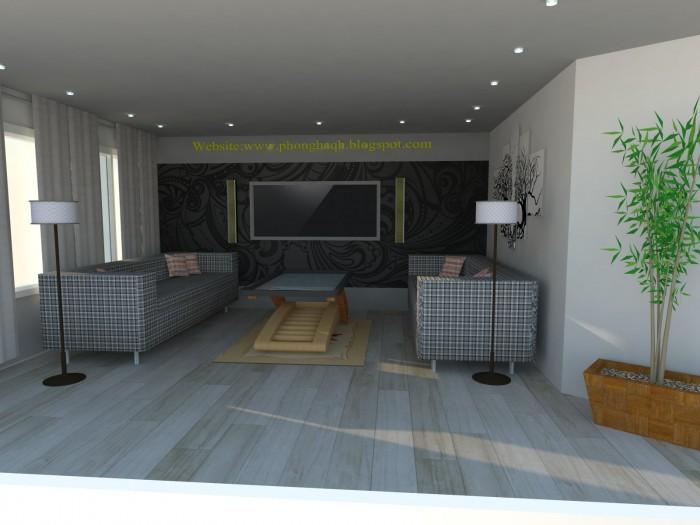 Nhận vẽ phối cảnh 3D: nhà, Showroom, sân vườn, chi tiết đơn lẻ