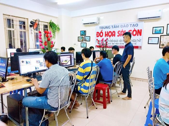 Chỉ với một khóa 3DsMAX-VRAY tự tin làm việc tại các công ty nội thất lớn tại