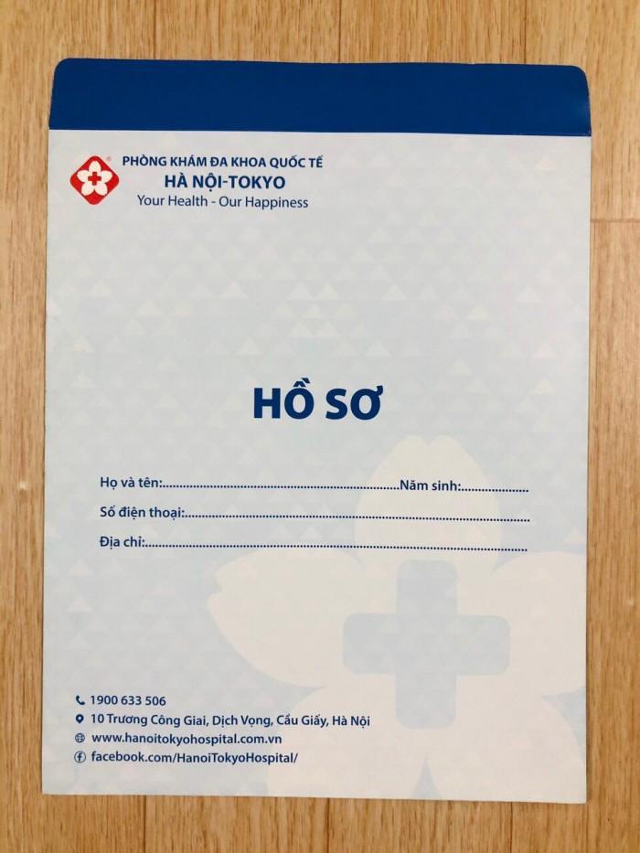 Xưởng in túi đựng phim, hồ sơ khám bệnh giá rẻ tại Hà Nội