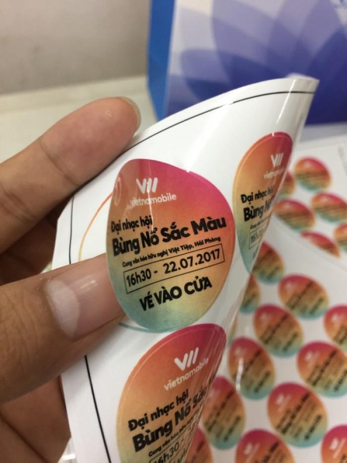 Xưởng in tem nhãn, decal giá rẻ tại Hà Nội
