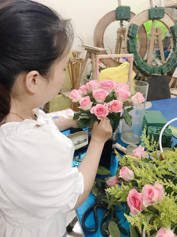 Lớp học cắm hoa giá rẻ tại Đà Nẵng