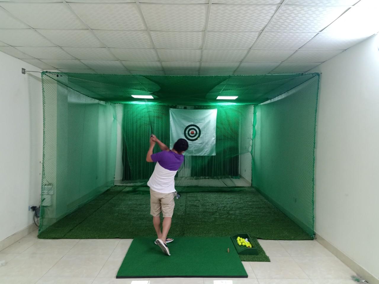 Báo giá thi công phòng tập Golf 3D trong nhà trọn gói thiết kế, lắp đặt thiết bị phòng Golf 3D tại gia