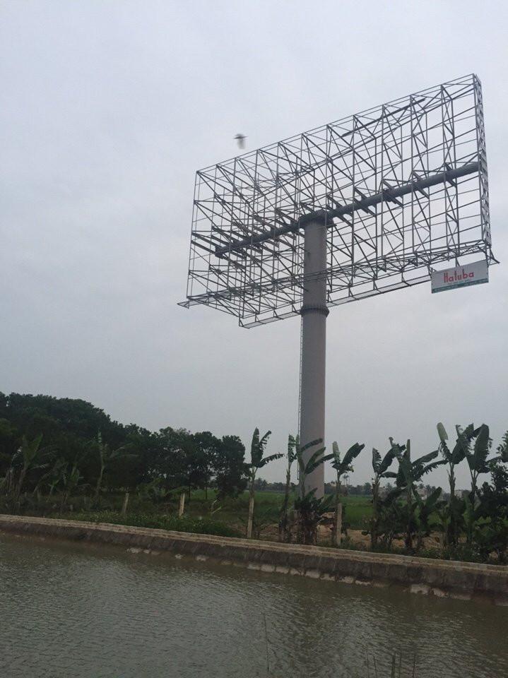 Xây dựng biển quảng cáo tấm lớn ngoài trời đẹp