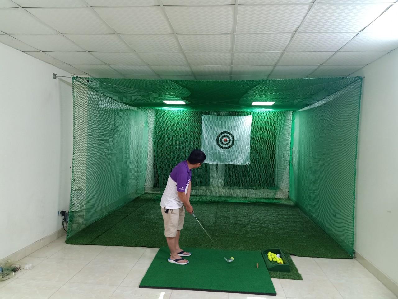 thiết kế phòng tập Golf