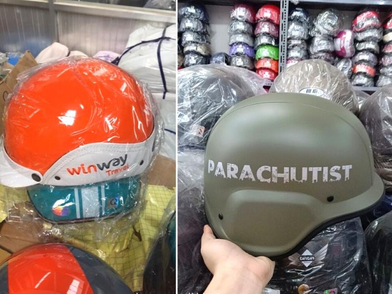 Xưởng sản xuất mũ nón bảo hiểm