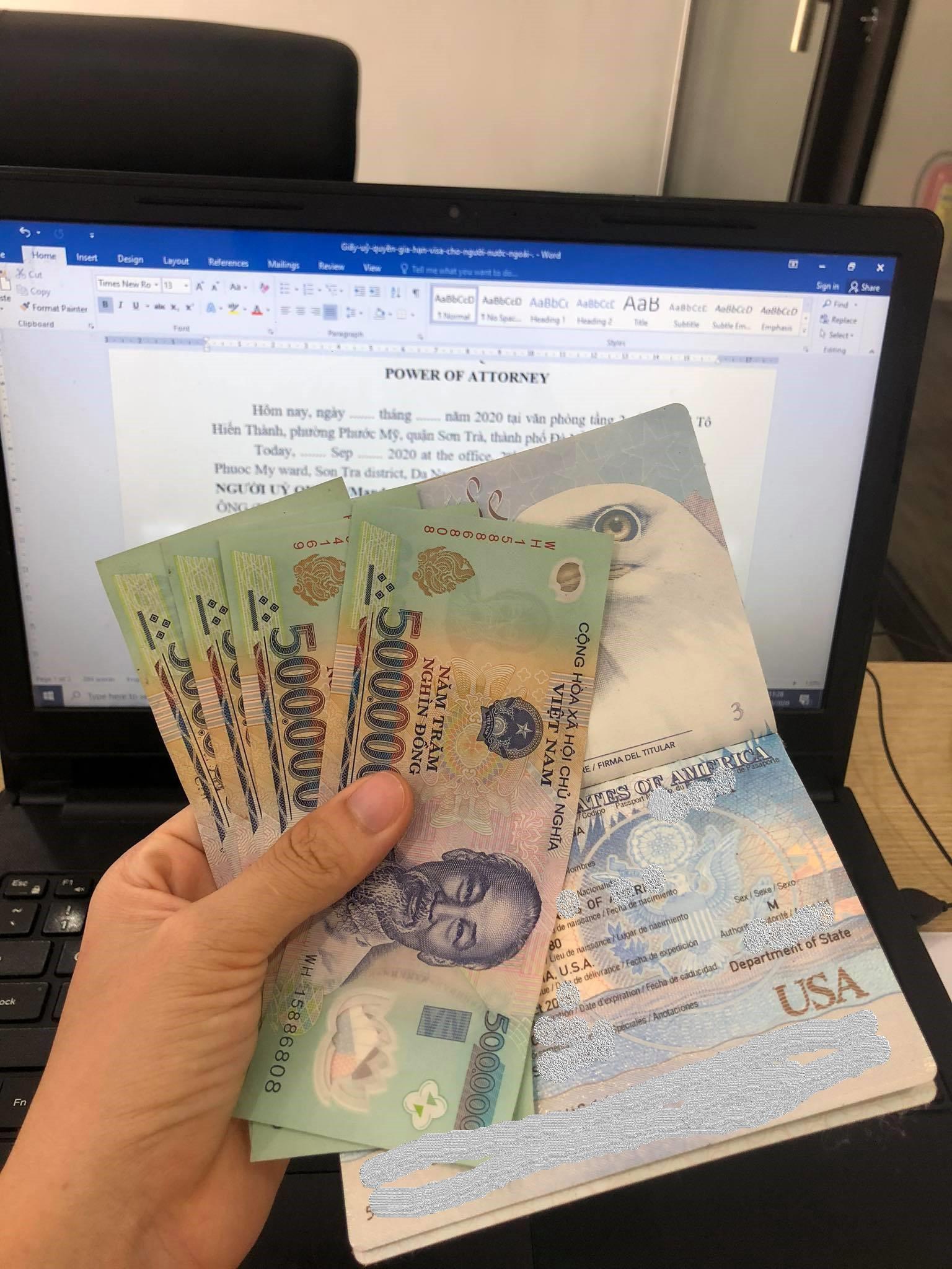Gia hạn visa cho khách nước ngoài đang sống tại Đà Nẵng