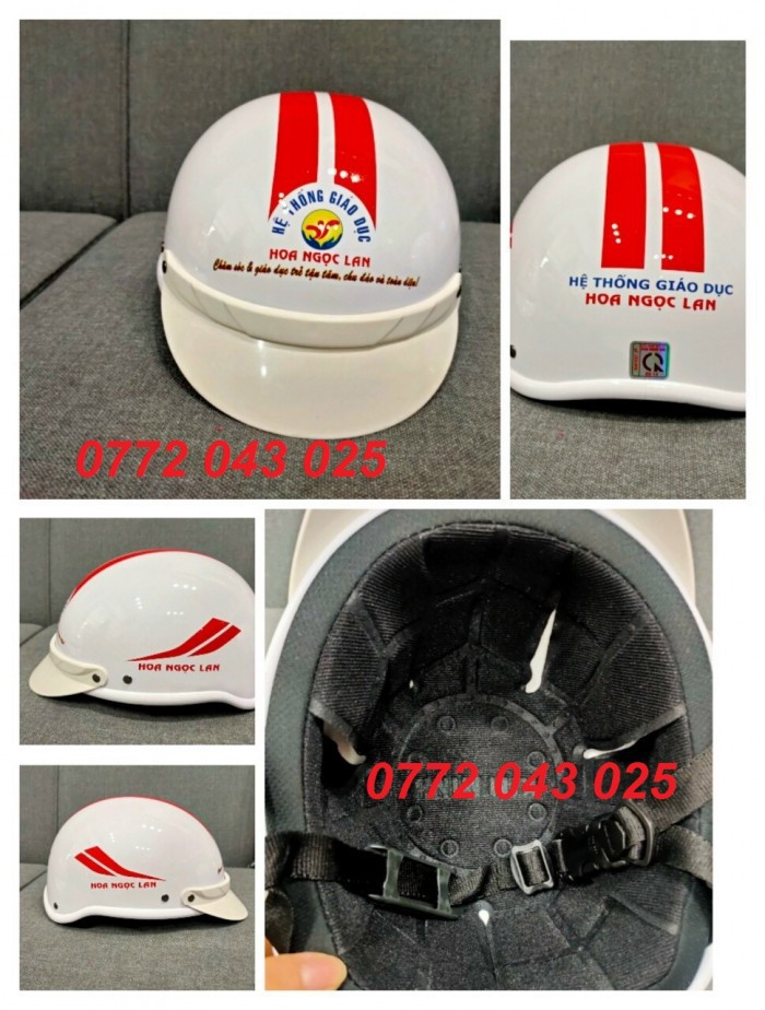 Cần đặt mũ bảo hiểm in logo loại rẻ nhất làm quà tặng