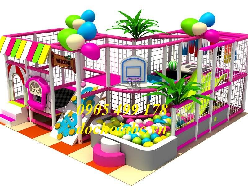Thiết kế khu vui chơi dành cho trẻ em trong nhà an toàn - hiện đại