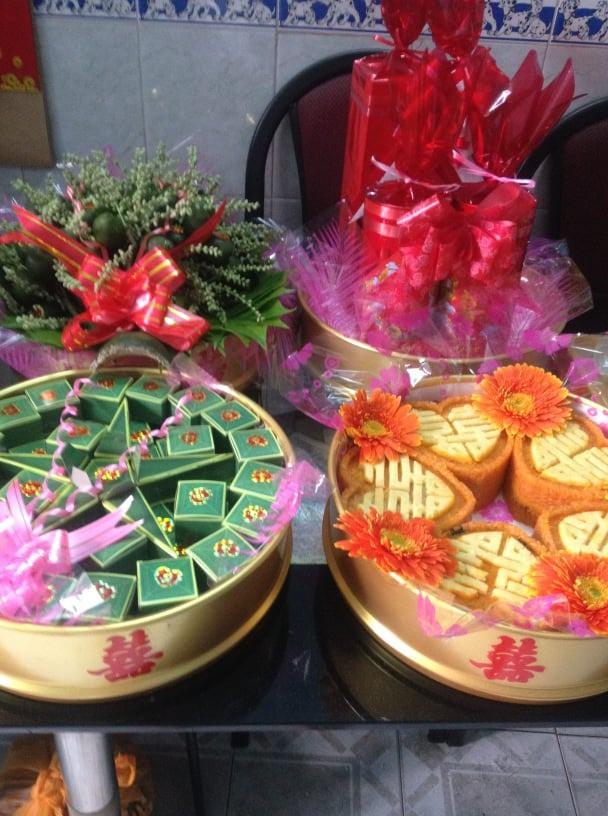 Mâm quả cưới Bình Thạnh - Dịch vụ mâm quả cưới giá rẻ TPHCM - chuẩn miền Nam