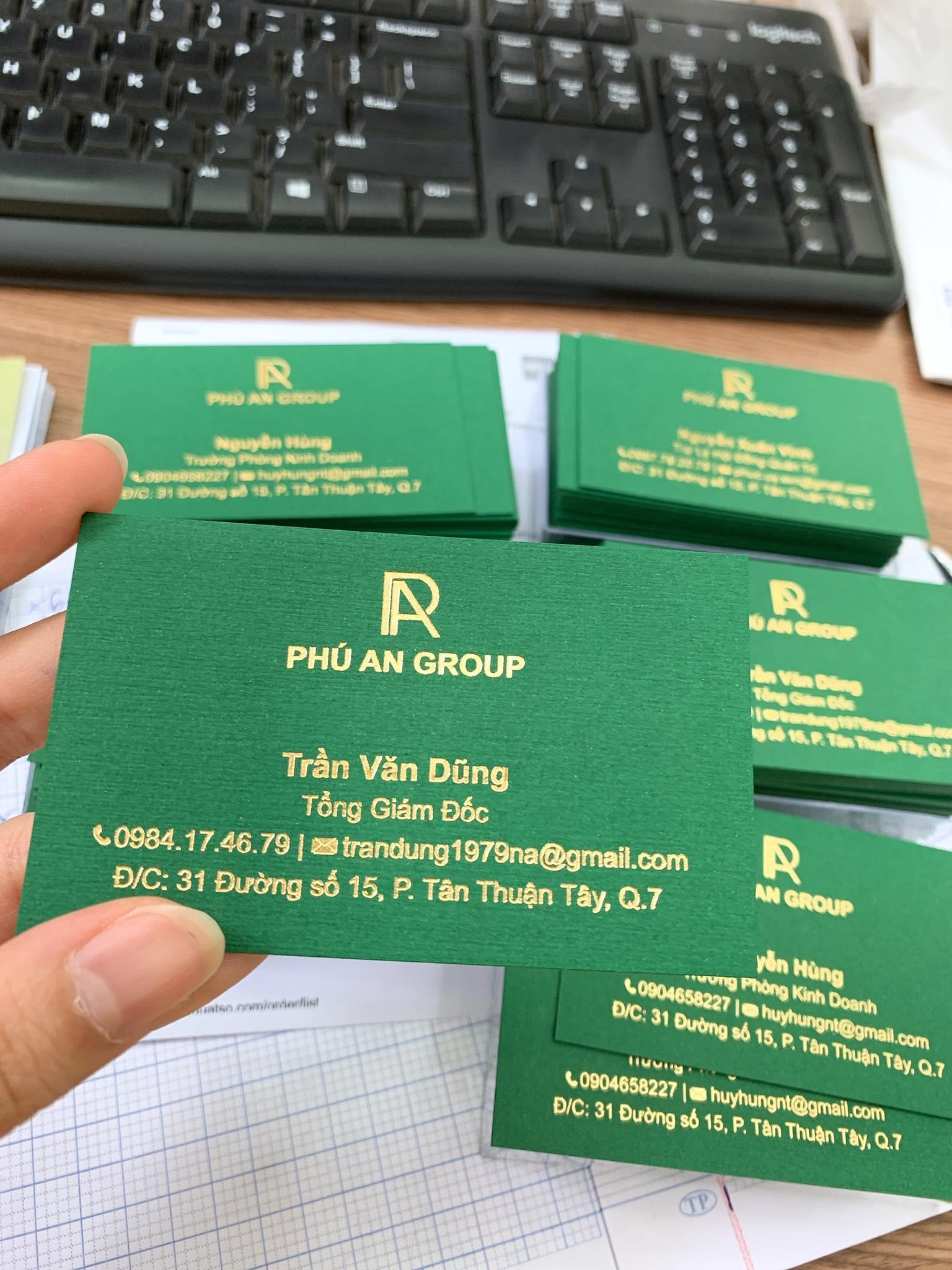 In name card giá rẻ số lượng lớn bằng công nghệ in offset