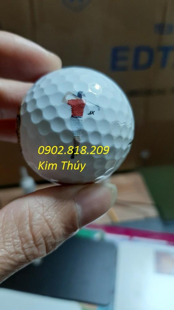 In ảnh, in tên, logo lên bóng (banh) golf làm quà tặng, nhận in từ 1 quả