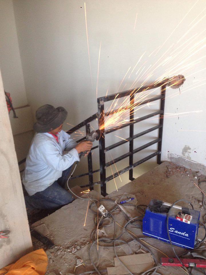 Sửa cửa sắt tại nhà - thợ hàn sắt - giá rẻ nhất