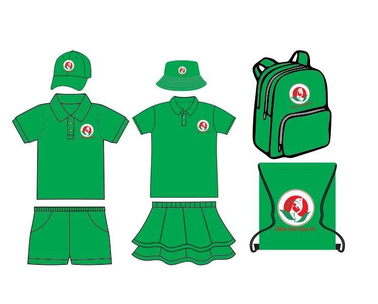 Thiết kế, may mẫu & may đồng phục mầm non mọi số lượng