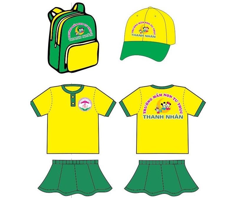 May đồng phục mầm non & Thiết kế đồng phục học sinh