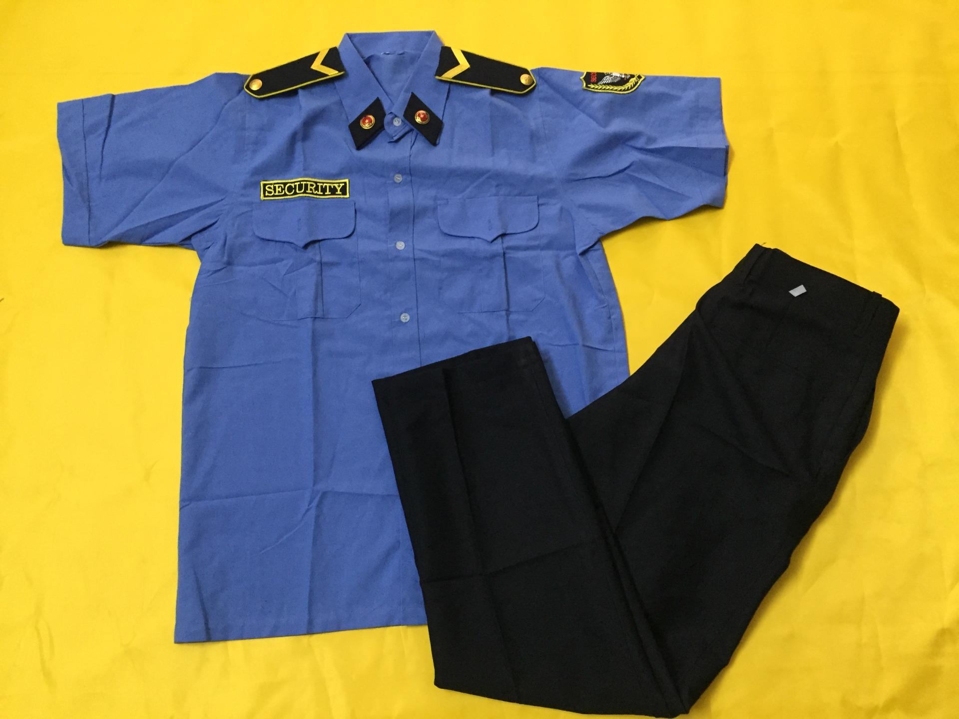 Nhận may full set áo, quần, nón, cầu vai, quân hàm in thêu logo công ty