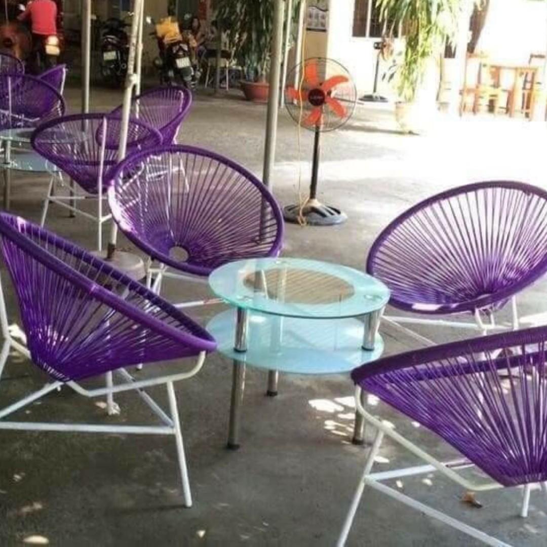 Xưởng sản xuất bàn ghế cafe tư vấn lựa chọn bàn ghế cà phê ngoài trời, sân vườn thích hợp