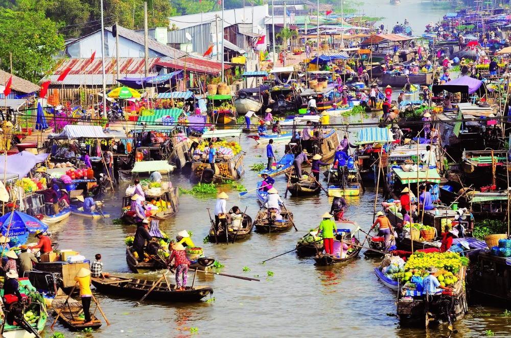 Tiền Giang - Cần Thơ - Sóc Trăng - Bạc Liêu - Cà Mau