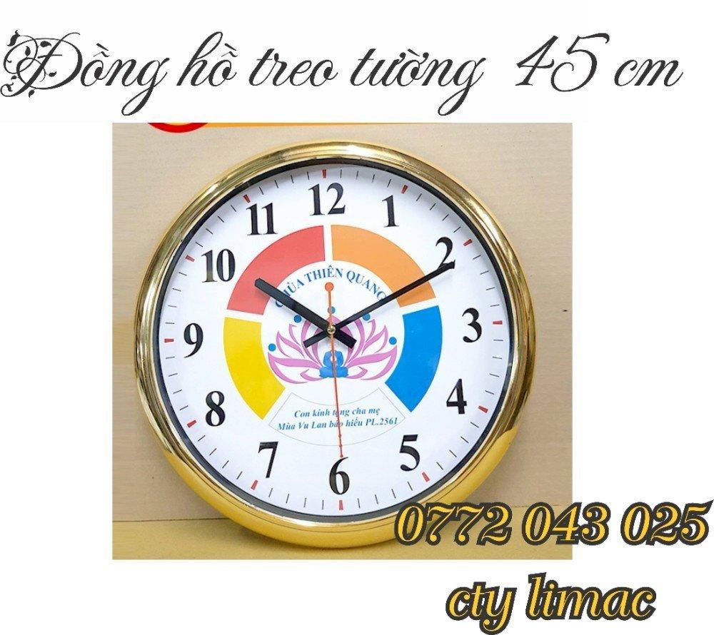 Đồng hồ treo tường quảng cáo xưởng sản xuất...