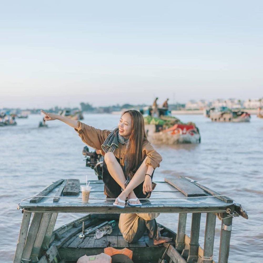 Chợ Nổi Cái Bè - Cù Lao Tân Phong