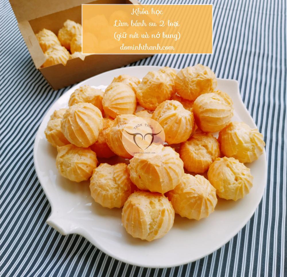 Khóa học làm bánh online - Học làm bánh su