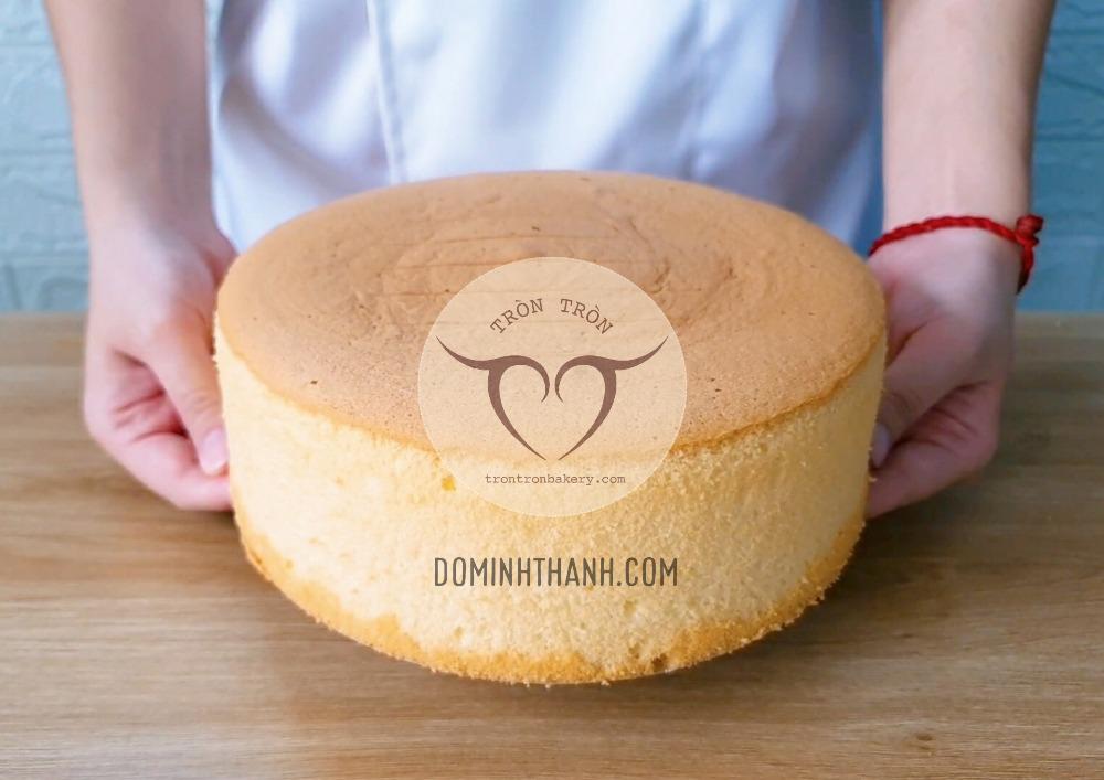 Khóa học làm bánh bông lan mềm, xốp, thơm bơ, sữa, không thắt eo, lõm đáy