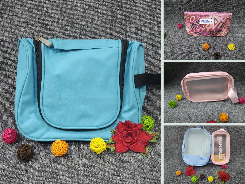 Top 10 mẫu ví, túi đựng mỹ phẩm, đồ trang điểm được nhãn hàng đặt in logo làm quà khuyến mãi tặng khách mua hàng