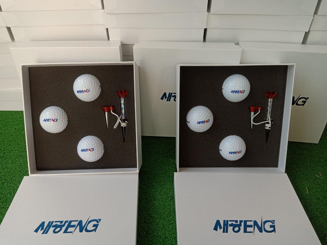 Dịch vụ in logo lên bóng Golf giá tốt nhất tại Hà Nội