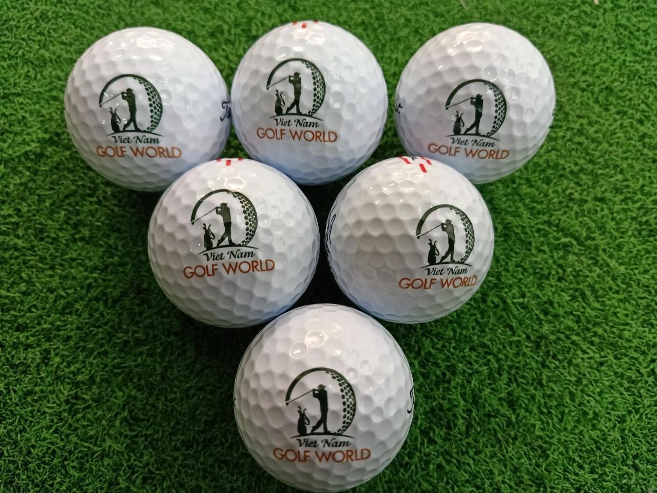 In logo trên bóng Golf theo yêu cầu tại Hà Nội