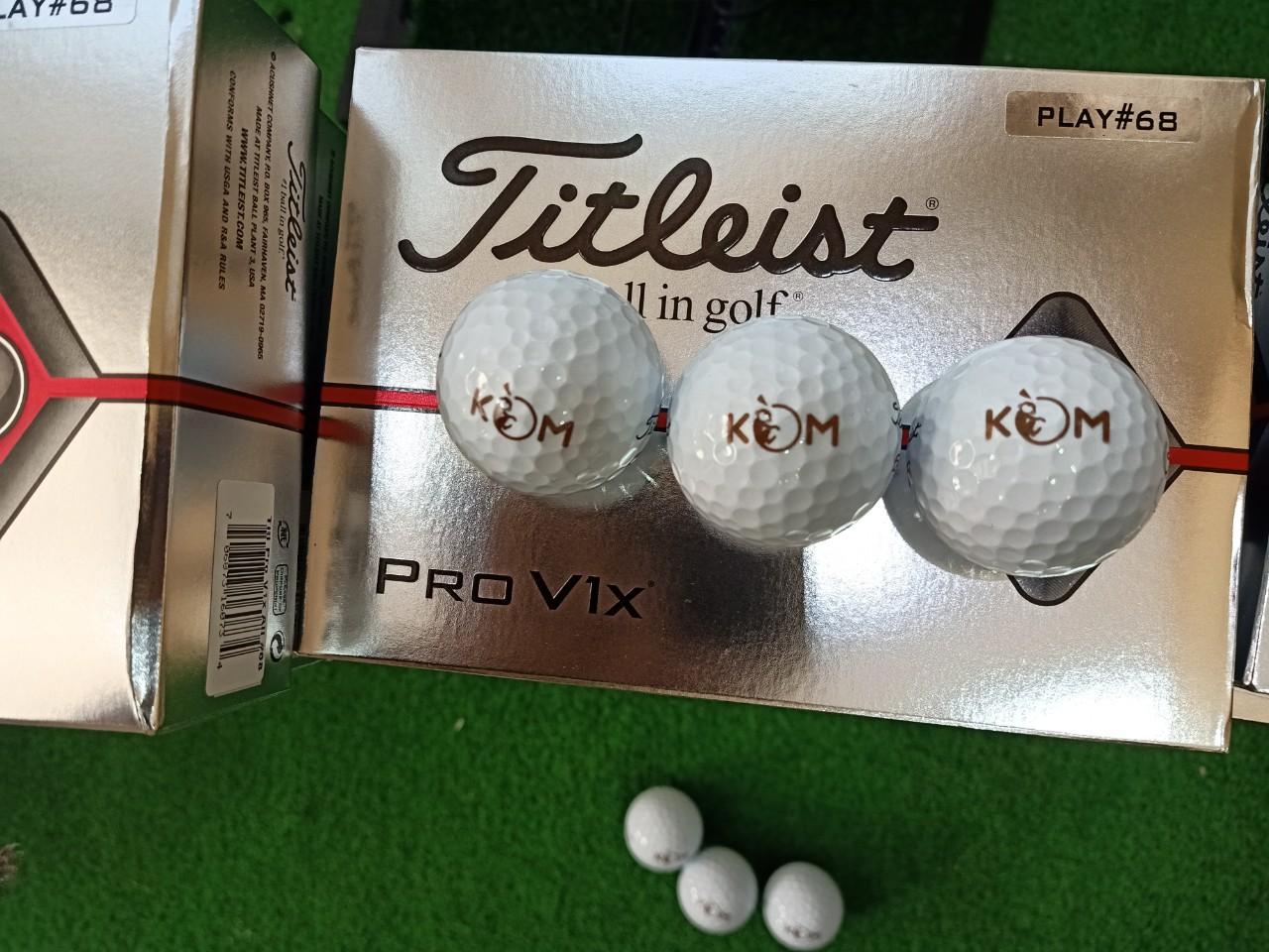 Bao giá in logo lên bóng Golf tại Hà Nội