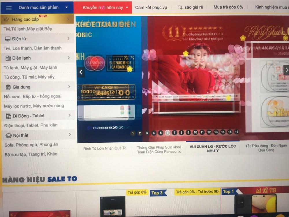 Miễn phí website bán hàng dịp tết
